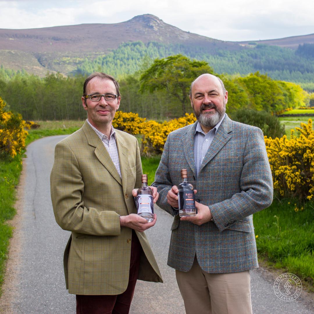 Callum & Peter Sim, Founders of Hrafn Gin 001
