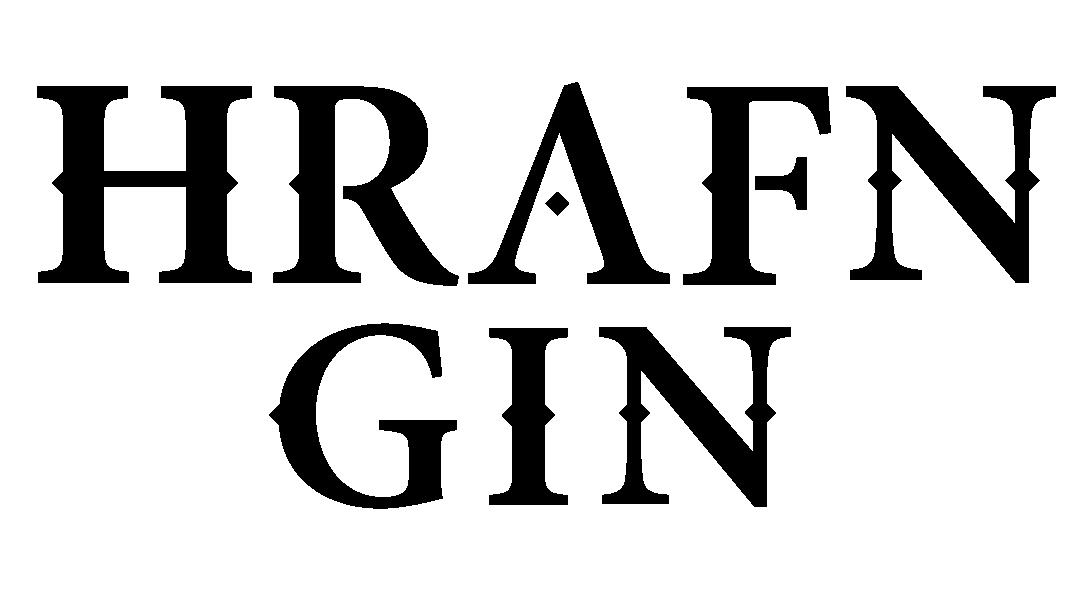 HRAFN GIN Logo Black