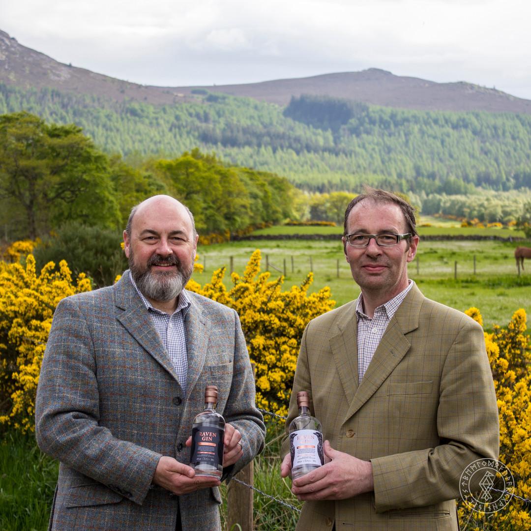 Callum & Peter Sim, Founders of Hrafn Gin 002