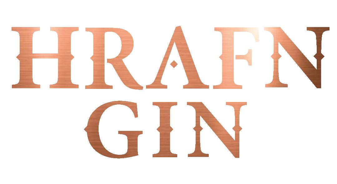 HRAFN GIN Logo Copper