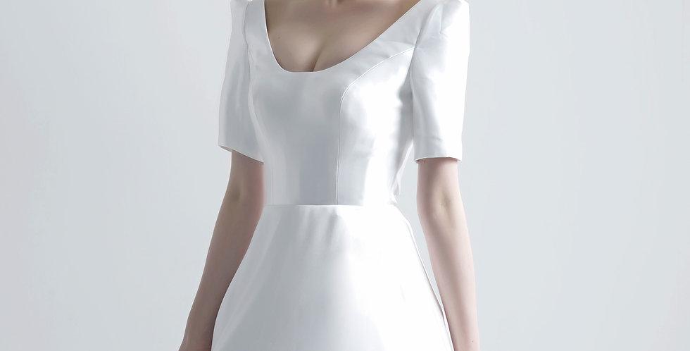 클라라 미카도 실크 드레스 ( 대여 )