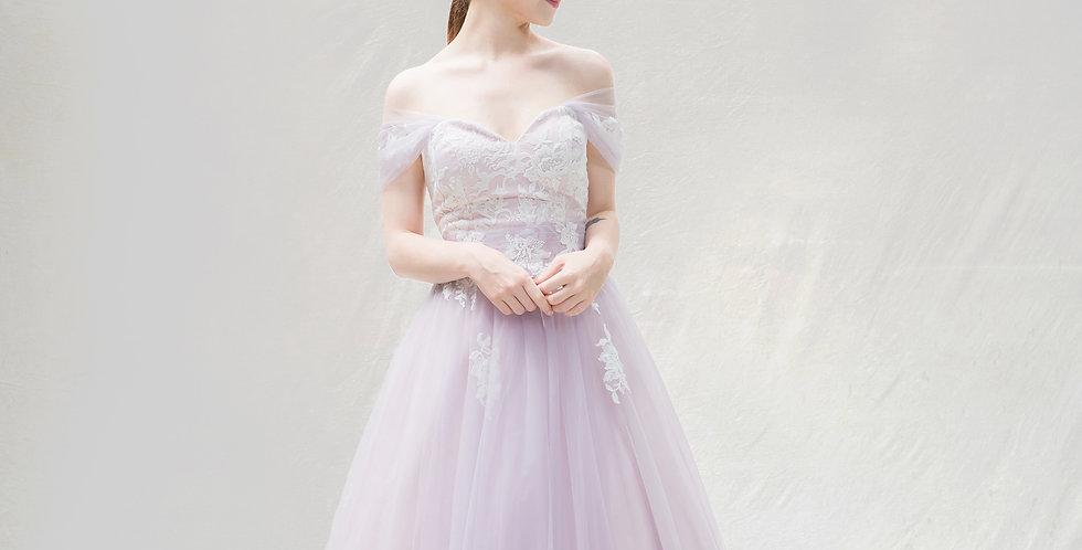 쥴스 퍼플 드레스 ( 대여 )
