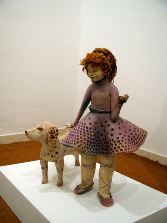 no4.Girl with A Dog (Pink).jpg