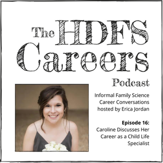 Caroline Discusses Her Career as a Child Life Specialist