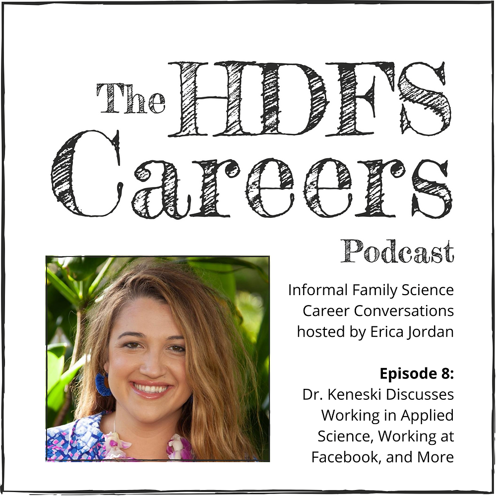 Image of Dr. Liz Keneski with HDFS Careers Podcast