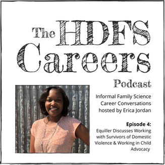 Equiller Discusses Working with Survivors of Domestic Violence & Working in Child Advocacy: