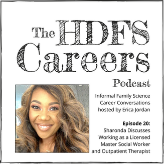 Sharonda Discusses Working as a Licensed Master Social Worker and Outpatient Therapist