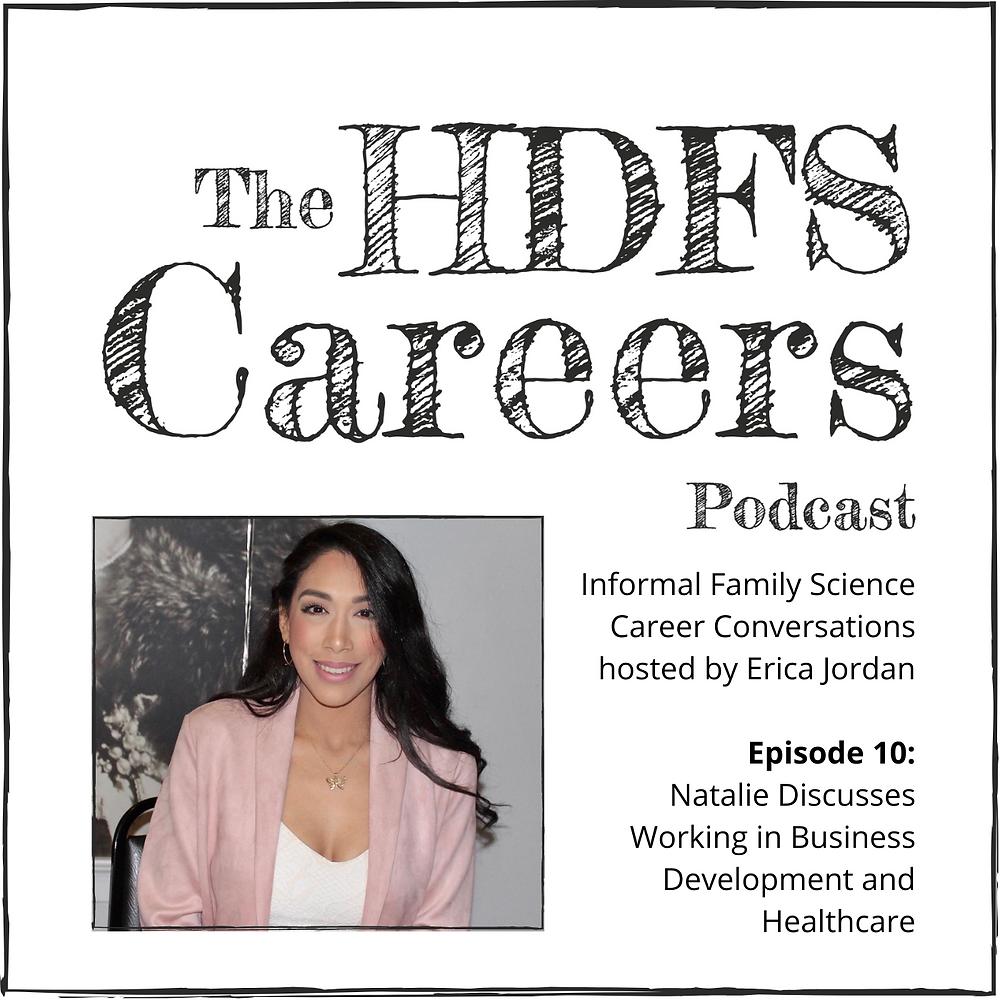 Image of Dr. Liz Keneski with HDFS Careers Podcast