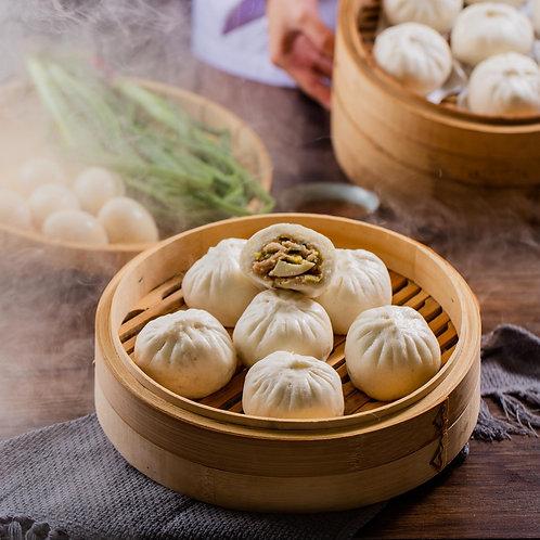 功夫肉包 Kung Fu Meat Steamed Bun (6pcs)