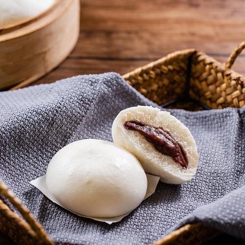 豆沙包 Red Bean Paste Steamed Bun (6pcs)