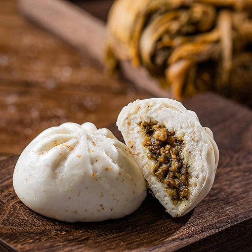 梅菜包 Preserved Vegetables Steamed Bun (6pcs)