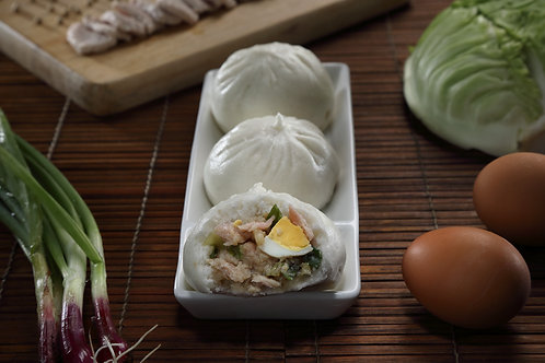 功夫肉包 KongFu Meat Steamed Bun (6粒装)