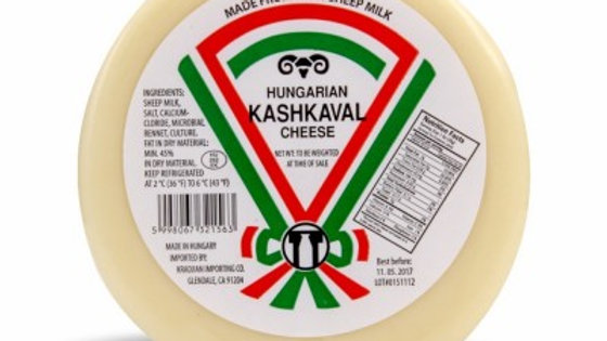 Hungarian Kashkaval #1 Sheep Milk Cheese 35g