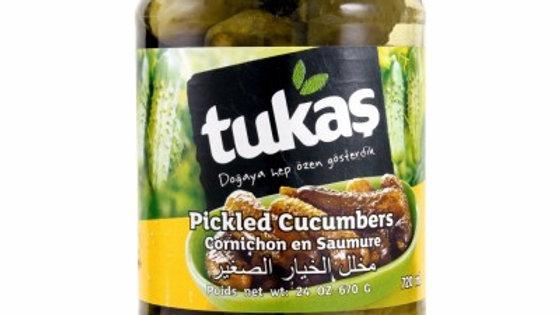 Tukas Cucumber Pickle 23oz