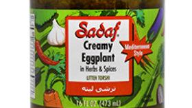 Sadaf Creamy Eggplant 16oz