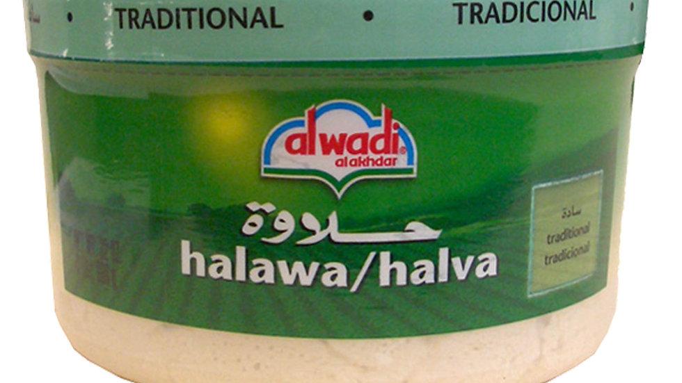 Al Wadi Plain Halva 16 oz