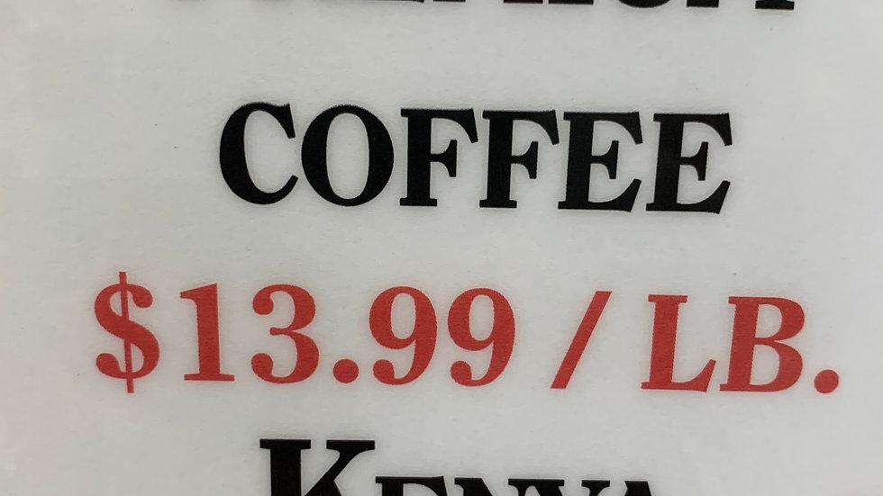 Bulk Kenya Viennese Roast 1 lb