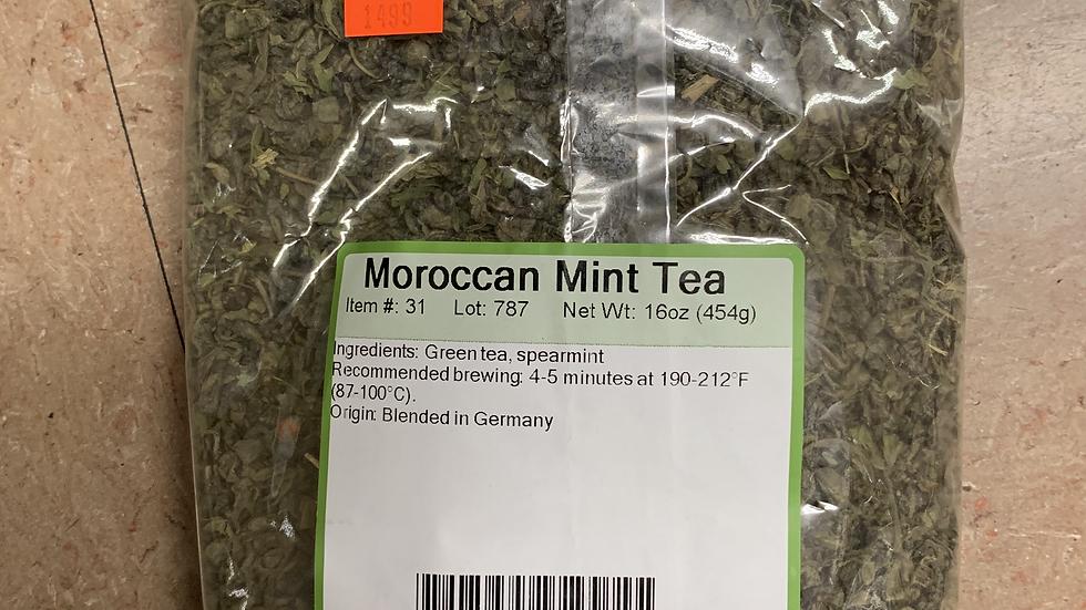 Moroccan Mint Green Tea 1 lb