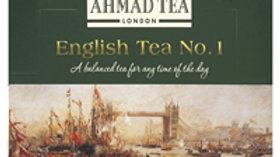 Ahmad English Tea No. 1 100 Tea Bags (Enveloped)