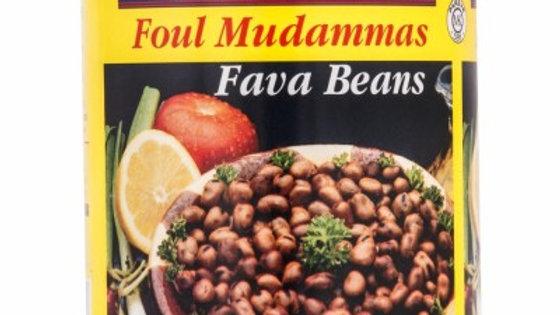 M.E Small Fava Beans Cans 30oz