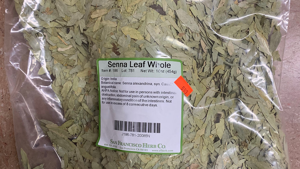 Senna Leaves 1 lb