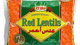 Ziyad Red Lentils 16 oz