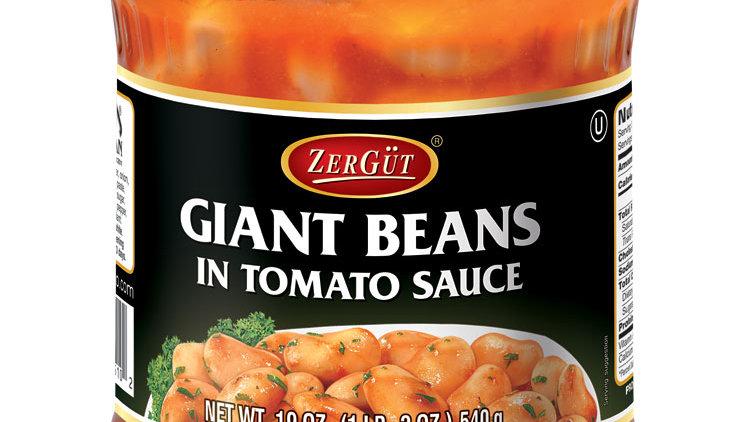 Zergut Giant Beans in Tomatoe Sauce 19 oz