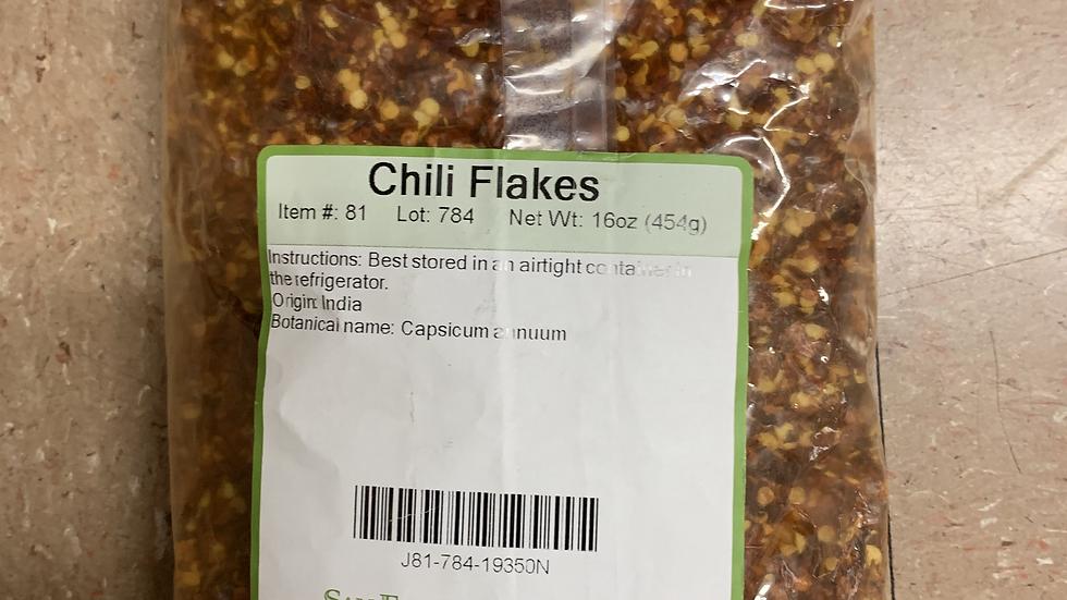 Chili Flakes 1 lb
