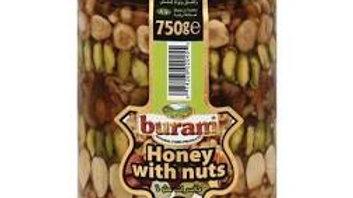 Buram Honey w/ Nuts 26 oz Jar