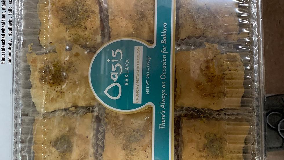 Oasis 15 pc. Pistachio Baklava 28.1 oz