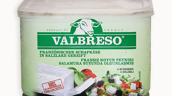 Valbreso French feta 600g