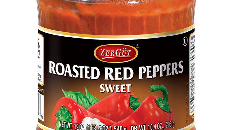 Zergut Roasted Peppers 19 oz