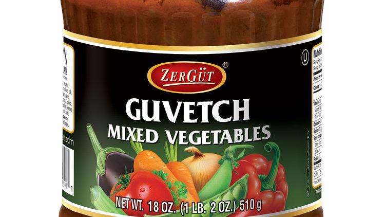 Zergut Guvetch / Mixed Cooked Vegtables 19 oz