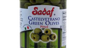Sadaf Castelvetrano Green Olives Pitted9oz