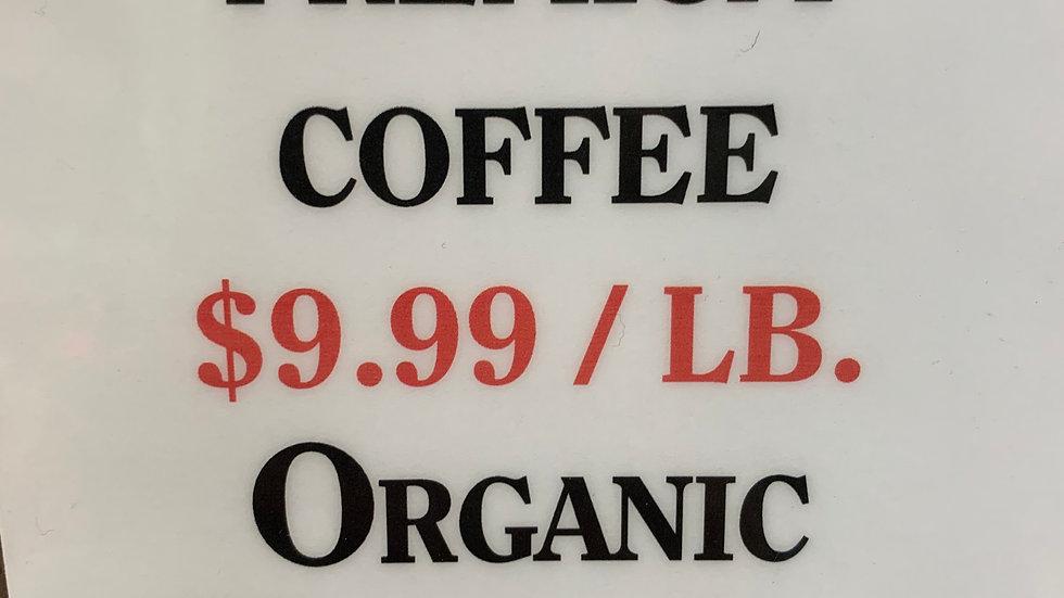 Bulk Organic Hondurus Coffee Blend 1 lb