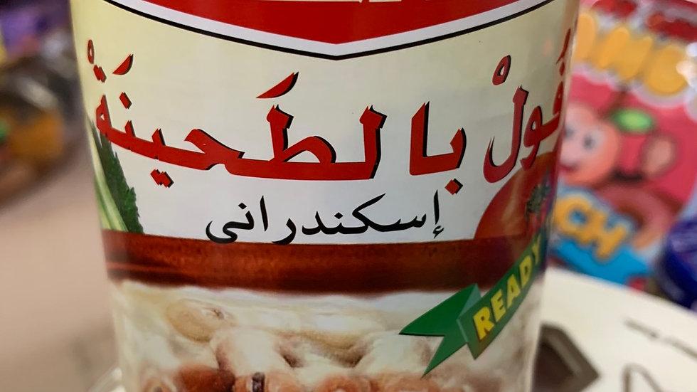 Tazah Fava Beans w/ Tahini 16oz