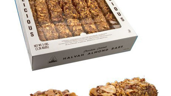 Halva Bar covered w/ Chocolate and Almond