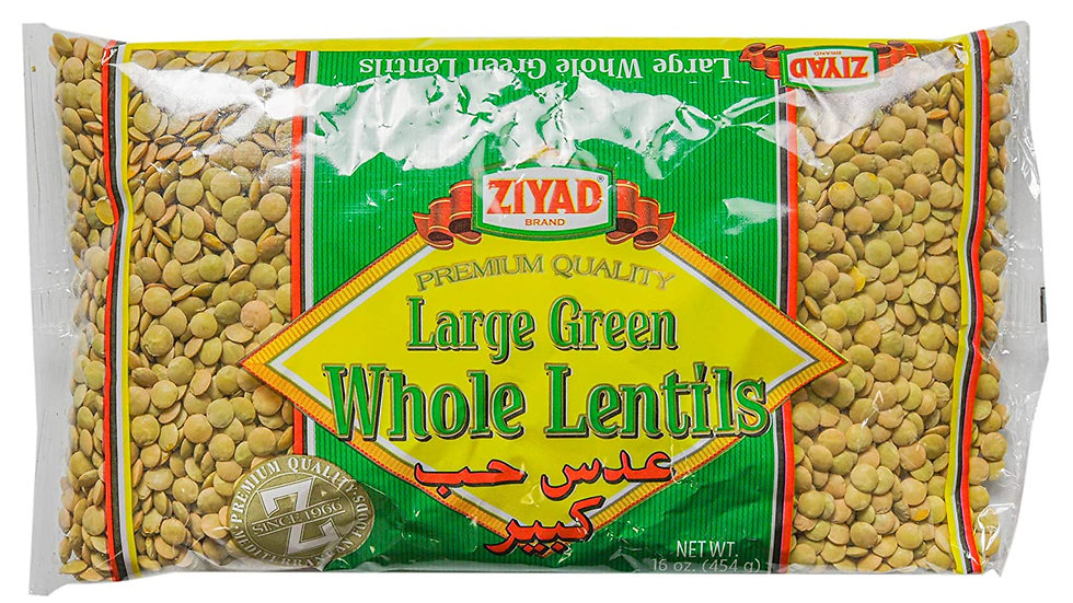 Ziyad Whole Large Lentils 32 oz