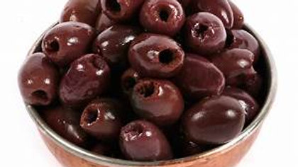 Pitted Kalamata Olives in Bulk  1 lb