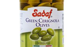 Sadaf Green Cerignola Sicilian Olives 12oz