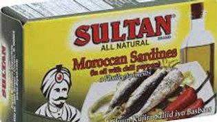 Sultan Sardines/Hot 4.37 oz