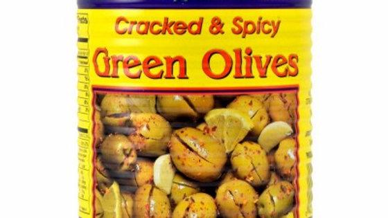 M.E Green Cracked Olive Hot w/ Shatta 19oz