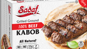 Sadaf 100% Beef Kabob Spice Frozen 7.2oz