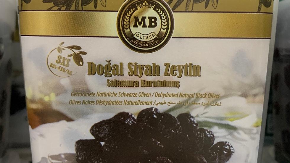 MB Dogal Siyah Zeytin 375g