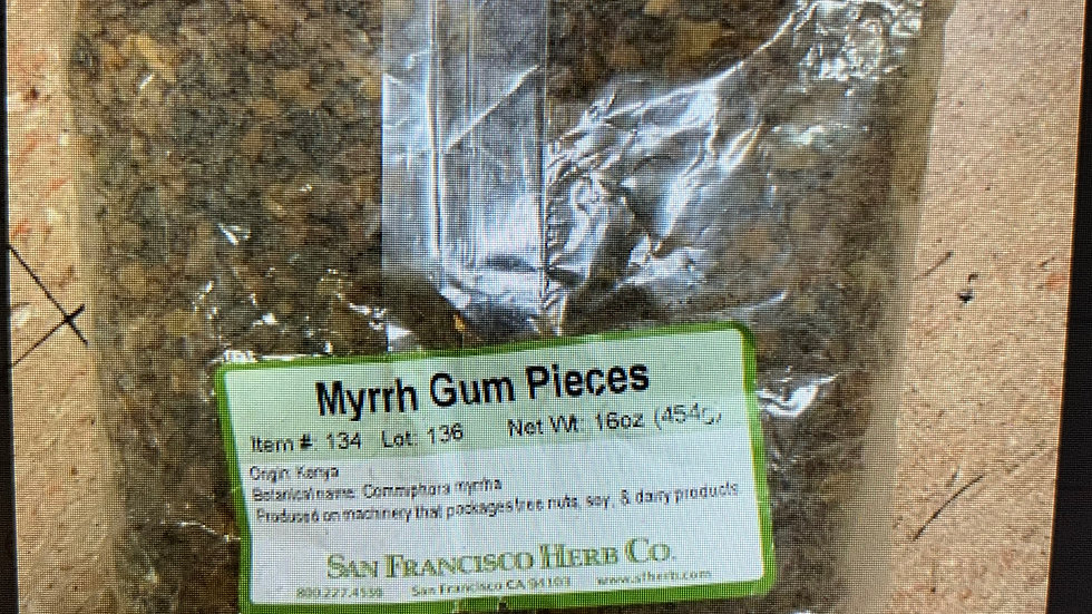 Myrrh Gum Pieces 1 lb
