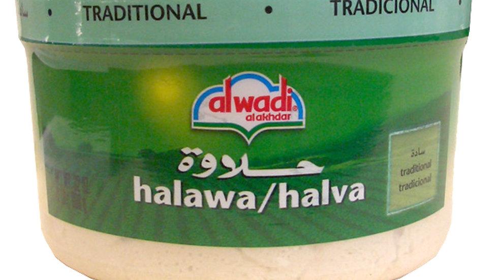 Al Wadi Plain Halva 32 oz