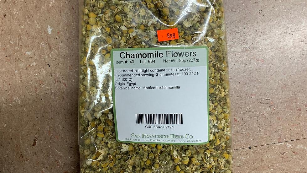 Chamomile Flowers 1/2 lb