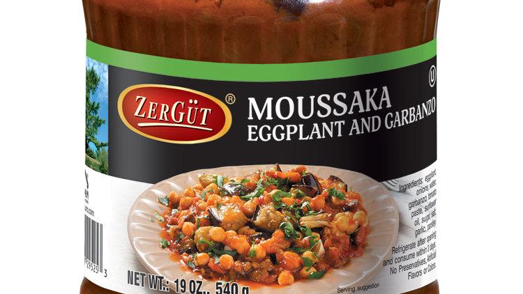 Zergut Moussaka, Eggplant w/ Garbanzo Beans 19 oz