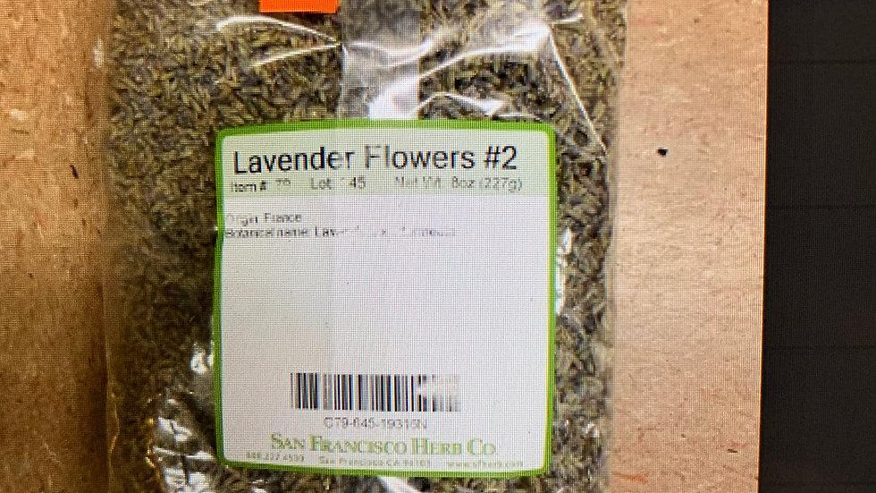 Lavender Flower #2 8 oz