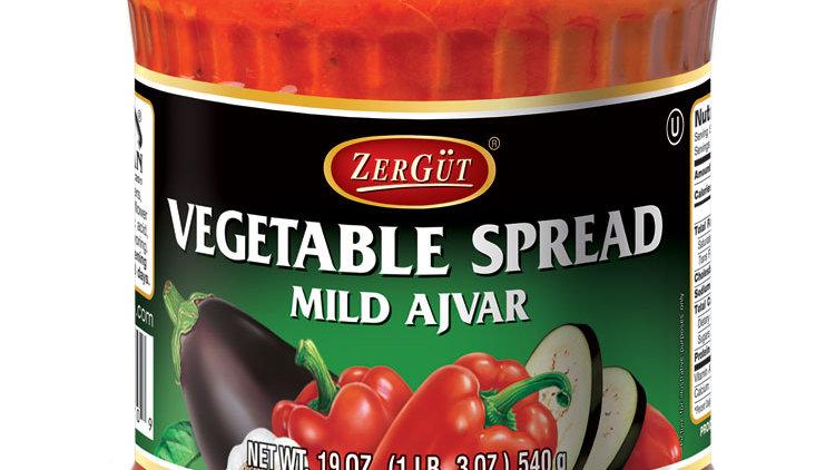 Zergut Mild Ajvar / Vegtable Spread 19 oz